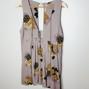 Free People Soft Floral Tank